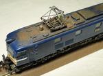 ウェザリング第5弾、国鉄の花形機関車EF58。